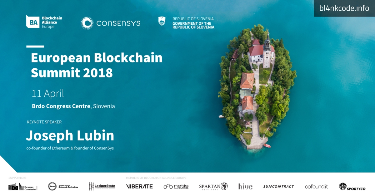 European Blockchain Summit 2018 with Ethereum Co-Founder