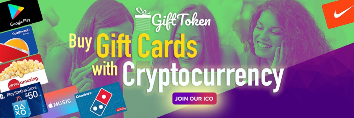 GIFT token - Buy gift cards with cryptocurrency