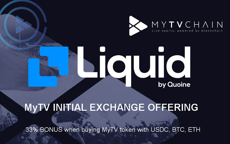 MyTVchain .com Launches its MEO (MULTIPLE EXCHANGE OFFERING)