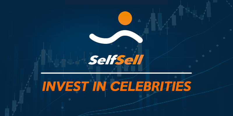 SelfSell - an Online Store where you can invest in celebrities