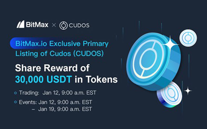 BitMax.io Announced the Primary Listing of Cudos to Support Off-Chain Compute Integrations