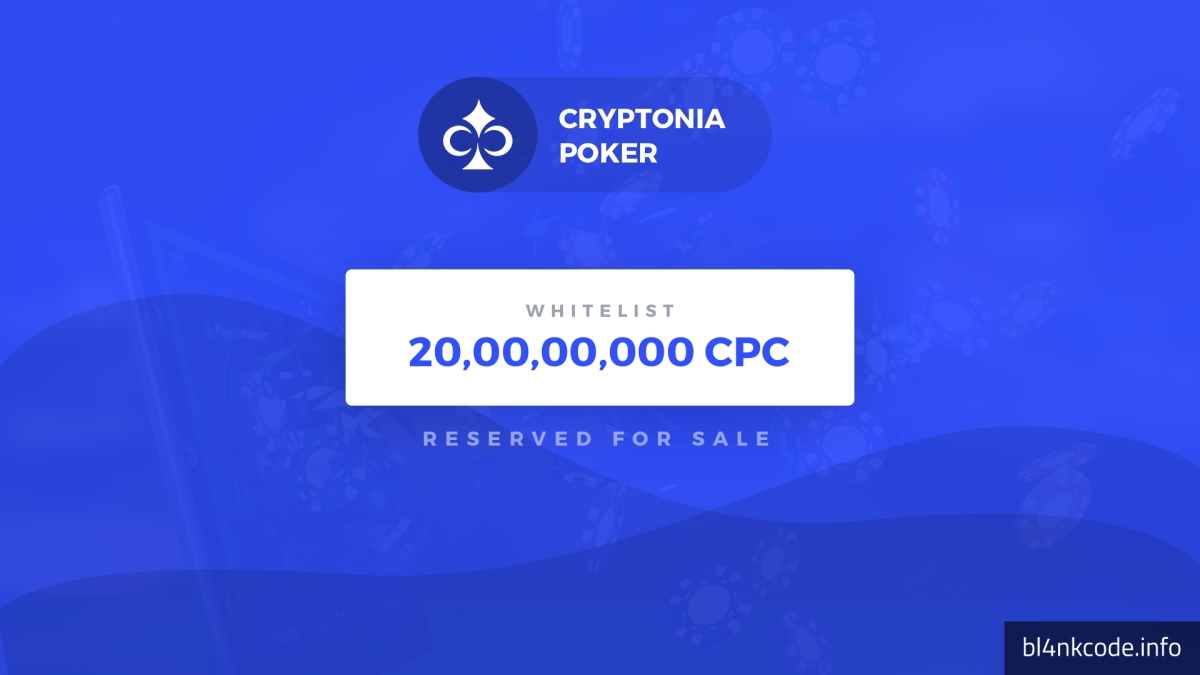 Launch of Cryptonia – A Cryptocurrency to Play Poker Online