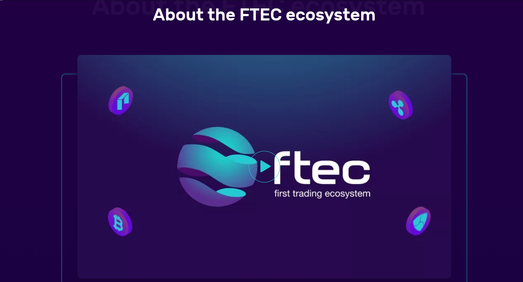 FTEC is a Cryptocurrency Platform that Combines Tools for Trader
