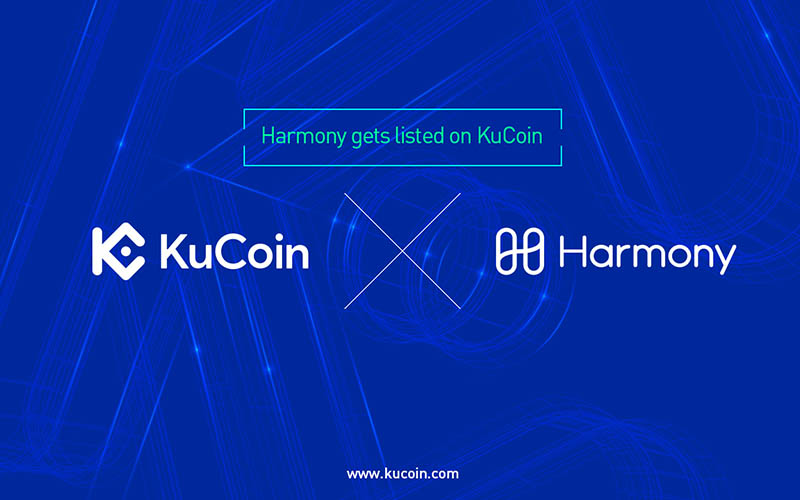 Harmony One listed on KuCoin Cryptocurrency Exchange