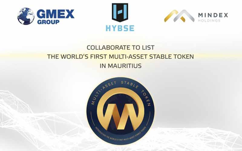 HYBSE, GMEX and MINDEX collaborate to list the world's first Multi-Asset Stable Token in Mauritius - Bl4nkcode