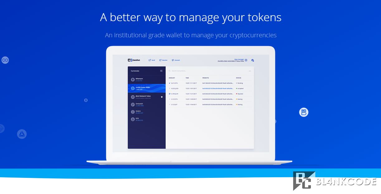 What is jWallet? | https://bl4nkcode.info/cryptocurrency/article/15/what-is-Jwallet