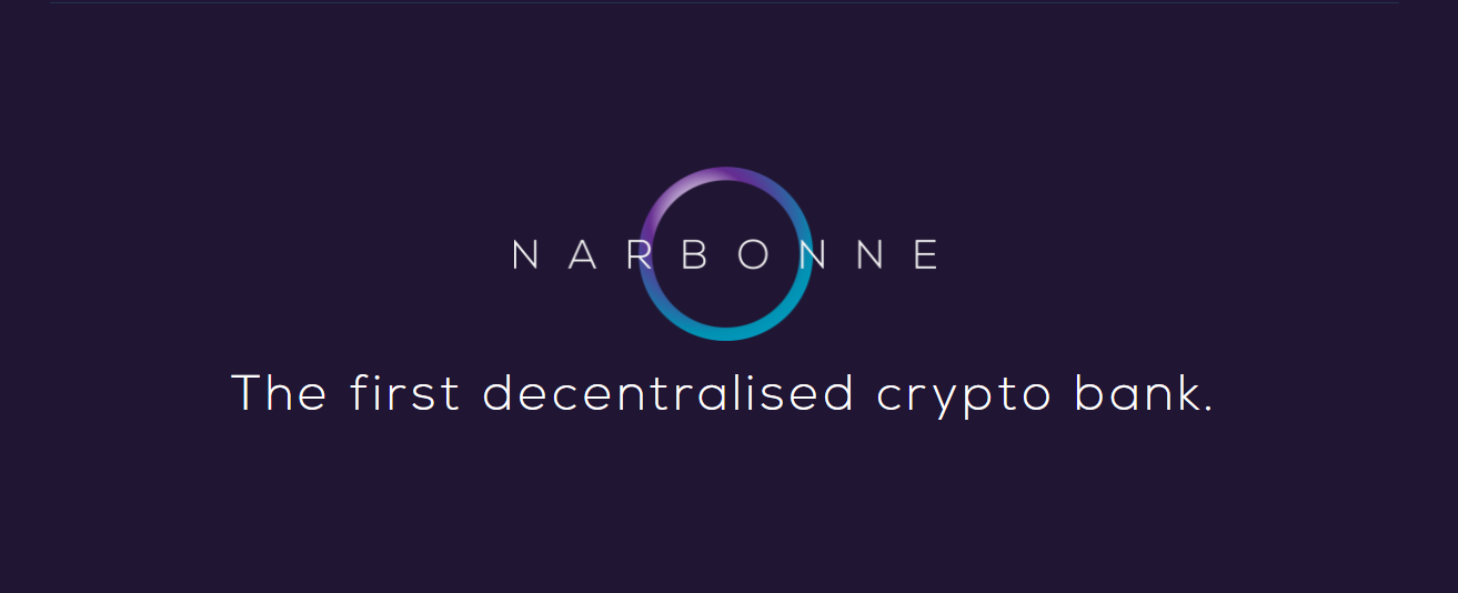 Narbonne — The First Decentralized Crypto Bank