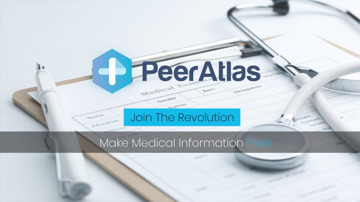 How PeerAtlas Wants to Make Medical Information Free | https://bl4nkcode.info/cryptocurrency/article/27/how-peeratlas-wants-to-make-medical-information-free