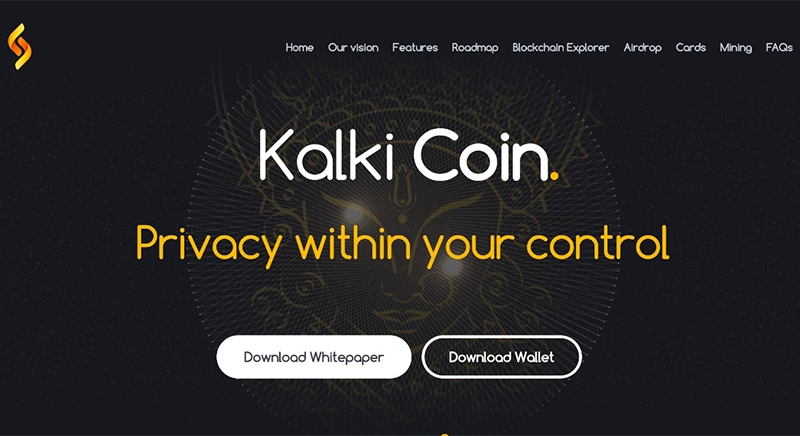 Kalki Coin — Privacy Within Your Control