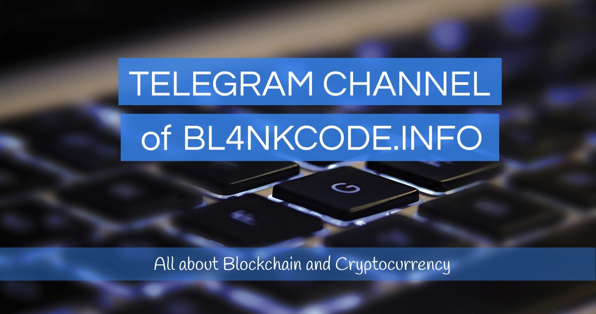 Telegram Channel of Bl4nkcode.info