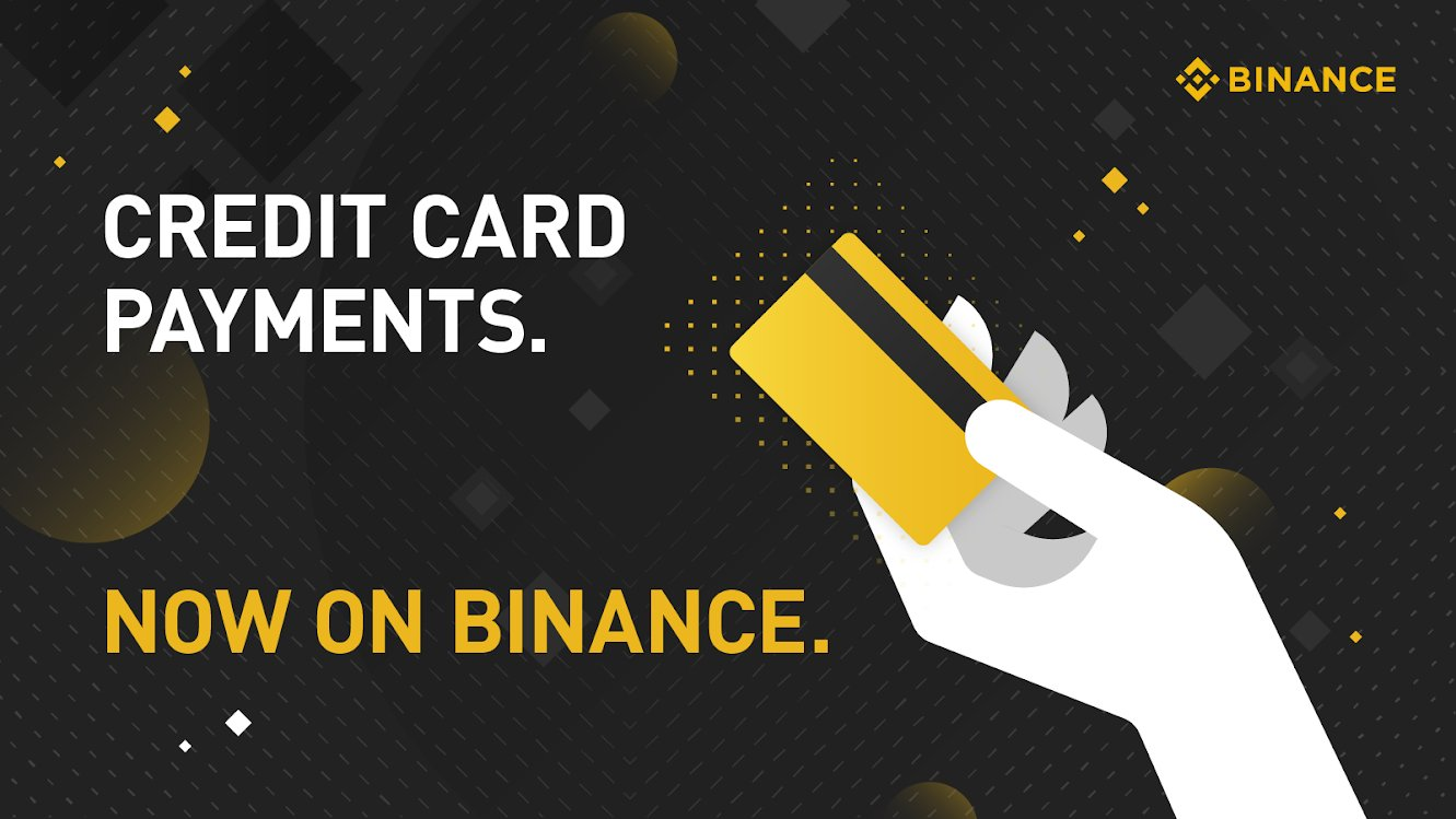 Binance Enables Debit and Credit Card Payments