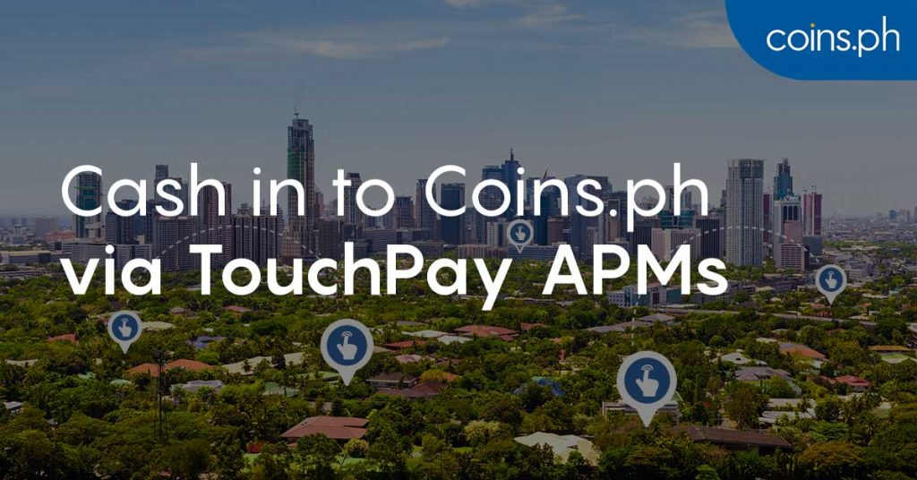 Cash In Instantly at TouchPay APMs